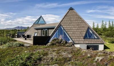 Vacation-home par Stunning Pyramid - Thingvellir, Islande