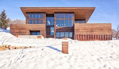 wood-clad-home par ParkCity Design - Utah, USA