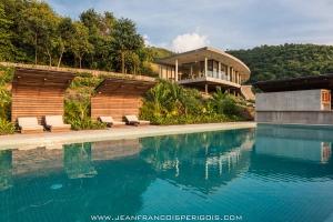 Cambodge construire tendance - La contemporaine villa k dans les collines de nagano au japon ...