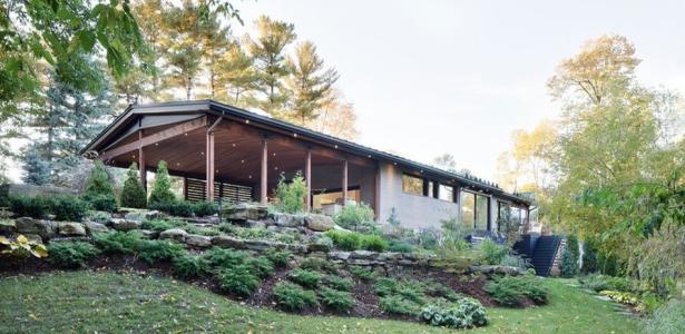 Bois Et Grandes Ouverture Pour Une R Novation De Maison