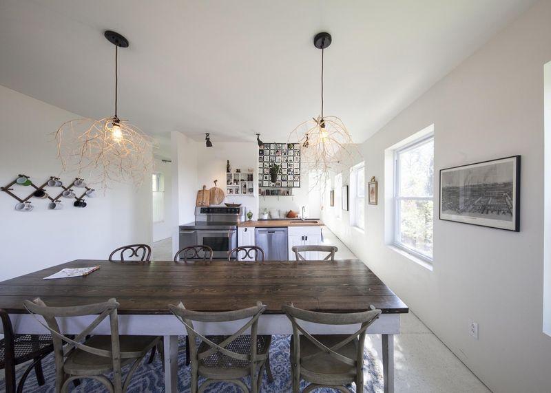 salle séjour & cuisine - MadHouse par Lion Architecture - Kansas City, USA