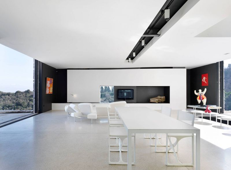 salle séjour & salon - Casa Farfalla par Michel Boucquillon - Toscane, Italie