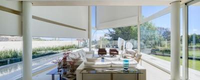 salon principal & grande baie vitrée - Club-Residence par Migdal Arquitectos - Mexico, Mexique