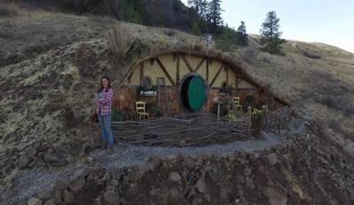 Hobbit-Village par Kristie Wolfe - Chelan, USA