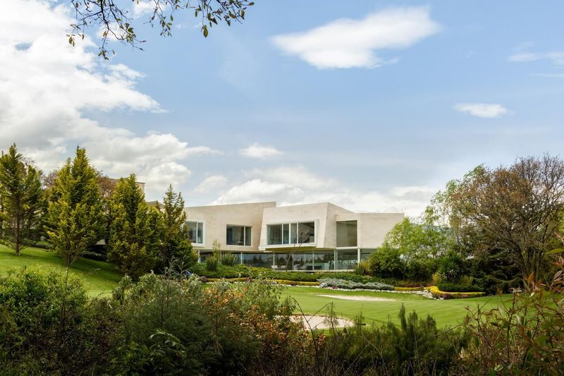 vue terrain de golf - Club-Residence par Migdal Arquitectos - Mexico, Mexique