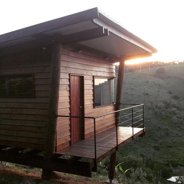 Balcon & vue panoramique - Small-House-Bliss par Cabana-Arquitetos - Brésil