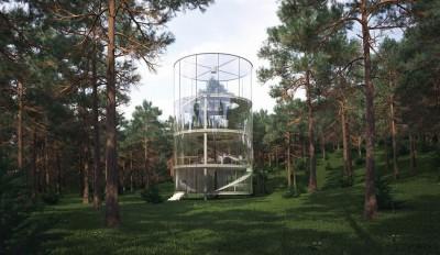 Glass-House par Aibek-Almassov - Kazakhstan