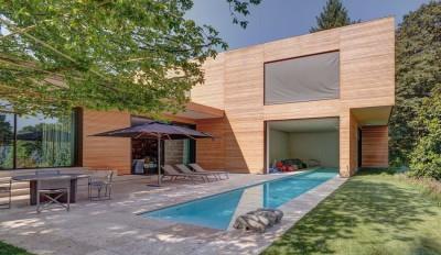 Wood-House par Marco Carini - Como, Italie