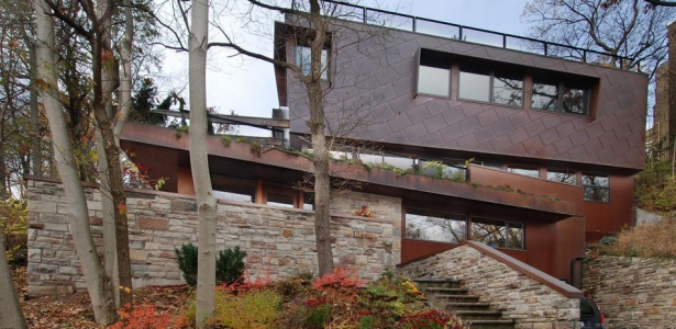 Technologies et durabilit pour maison urbaine toiture for Maison moderne urbaine