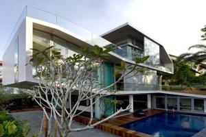 Mink architects construire tendance - La contemporaine villa k dans les collines de nagano au japon ...