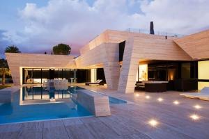 Maison d 39 architecte en espagne - La demeure moderne gb house par mmeb architects ...