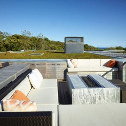 Canapé toiture terrasse - Vineyard-Farm-House par Charles Rose Architects - Massachusetts, USA