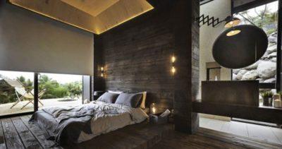 Chambre - Spectacular-Views-Home par Create Think Design - Taïwan