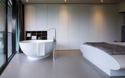 Chambre & baignoire - Eco-Friendly-Home par UN Studio - Hollande