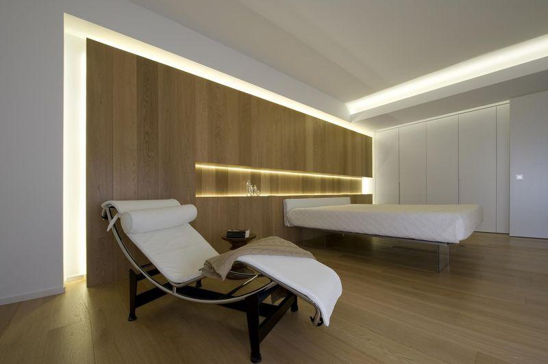 Chambre & chaise repos - Casa-Nl_Nf par Architrend Architecture - Ragusa, Italie