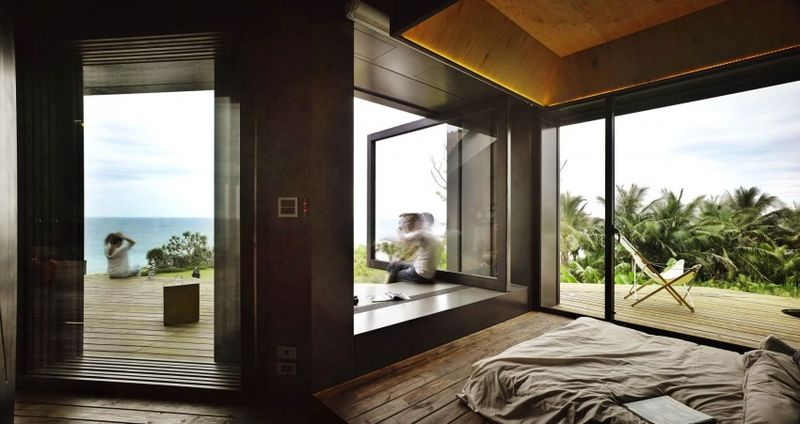 Chambre & vue panoramique océan - Spectacular-Views-Home par Create Think Design - Taïwan
