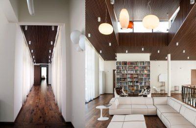 Couloir & Salon-Bibliothèque - Steamboat-Ivan-Kuzmich par Panacom - Moscou, Russie