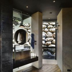 Couloir - Spectacular-Views-Home par Create Think Design - Taïwan