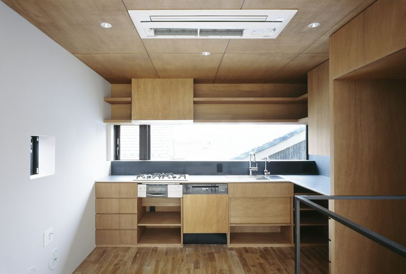Cuisine - Nest par Apollo-Architects - Nagoya, Japon