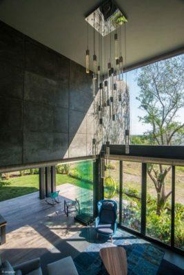 Déco plafond salon terrasse - Casa-Arbo par Maria Di Frenna Müller - Colima, Mexique