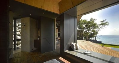 Entrée chambre - Spectacular-Views-Home par Create Think Design - Taïwan