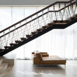Escalier accès deuxième étage - Steamboat-Ivan-Kuzmich par Panacom - Moscou, Russie