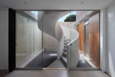 Escalier spiral rez de chaussée - spiral-stairs-home par Jorge Marsino Prado - Pérou