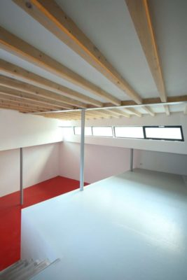 Espace étage supérieur - Twin-Blade par NIO Architecten - Amsterdam, Hollande