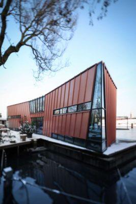 Façade principale - Twin-Blade par NIO Architecten - Amsterdam, Hollande