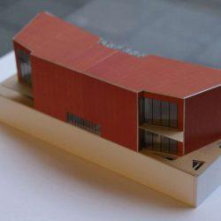 Maquette 3D - Twin-Blade par NIO Architecten - Amsterdam, Hollande