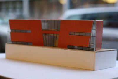 Maquette - Twin-Blade par NIO Architecten - Amsterdam, Hollande