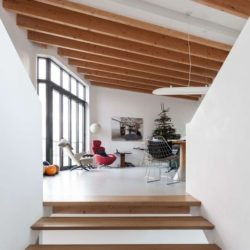 Pièce étage supérieur - Twin-Blade par NIO Architecten - Amsterdam, Hollande