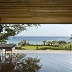Salle séjour - Spectacular-Views-Home par Create Think Design - Taïwan