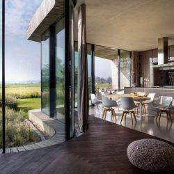 Salle séjour & cuisine - Eco-Friendly-Home par UN Studio - Hollande