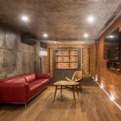Salon étage & coin TV - Casa-Arbo par Maria Di Frenna Müller - Colima, Mexique