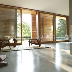 Salon & salle de séjour - Rauchkuchl par VonMeierMohr Architekten - Schliersee, Allemagne