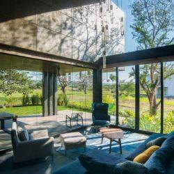 Salon terrasse - Casa-Arbo par Maria Di Frenna Müller - Colima, Mexique