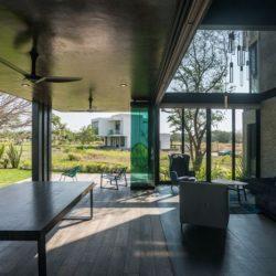 Salon terrasse design - Casa-Arbo par Maria Di Frenna Müller - Colima, Mexique