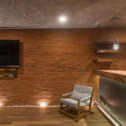 TV salon étage - Casa-Arbo par Maria Di Frenna Müller - Colima, Mexique