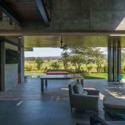 Terrasse salon design - Casa-Arbo par Maria Di Frenna Müller - Colima, Mexique