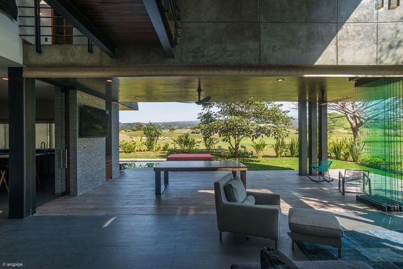 architecture atypique pour cette maison contemporaine mexicaine construire tendance. Black Bedroom Furniture Sets. Home Design Ideas