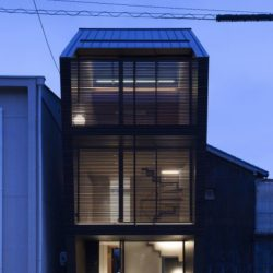 Vue d'ensemble nuit - Nest par Apollo-Architects - Nagoya, Japon