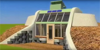 earthship simple survival