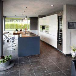 îlot central de cuisine - High-Tech-Modern-Home par Eppler Buhler, Allemagne