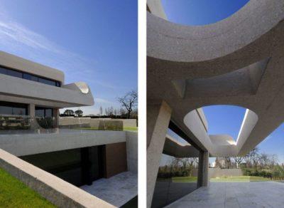 Accès sous-sol - Designs-Sculptural par A-Cero - Madrid, Espagne