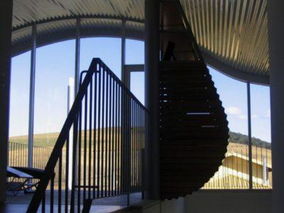 Balcon étage - Marina House par Joao Diniz Lagoa Santa, Brésil