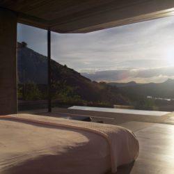 Chambre principale & vue paysage - Gota-Dam-Residence par Sforza Seilern - Afrique-Est