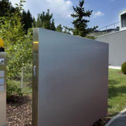 Clôture - High-Tech-Modern-Home par Eppler Buhler, Allemagne