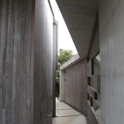 Couloir extérieur - Lyngholmen par Lund Hagem - Lillesand, Norvege