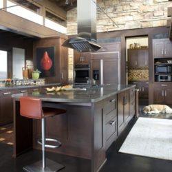 Cuisine ultra moderne - Home-Aspen par KH Webb - Colorado, Etats-Unis